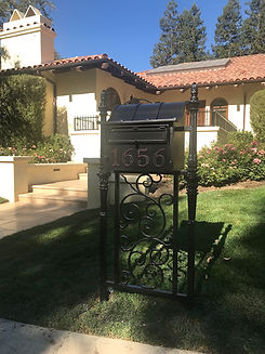 Wrought Iron Mailbox .JPG