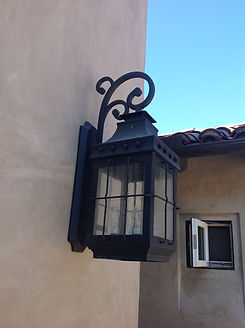 Wrought Iron Lamp.JPG