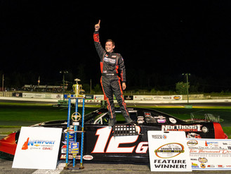 Griffith Dominates 10K to win GSPSS Newport Chevrolet 150