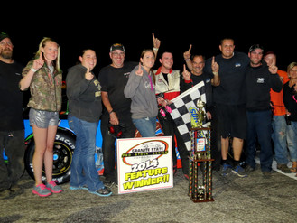 Babb Fends Off Heavy Competition for First Granite State Pro Stock Series Victory