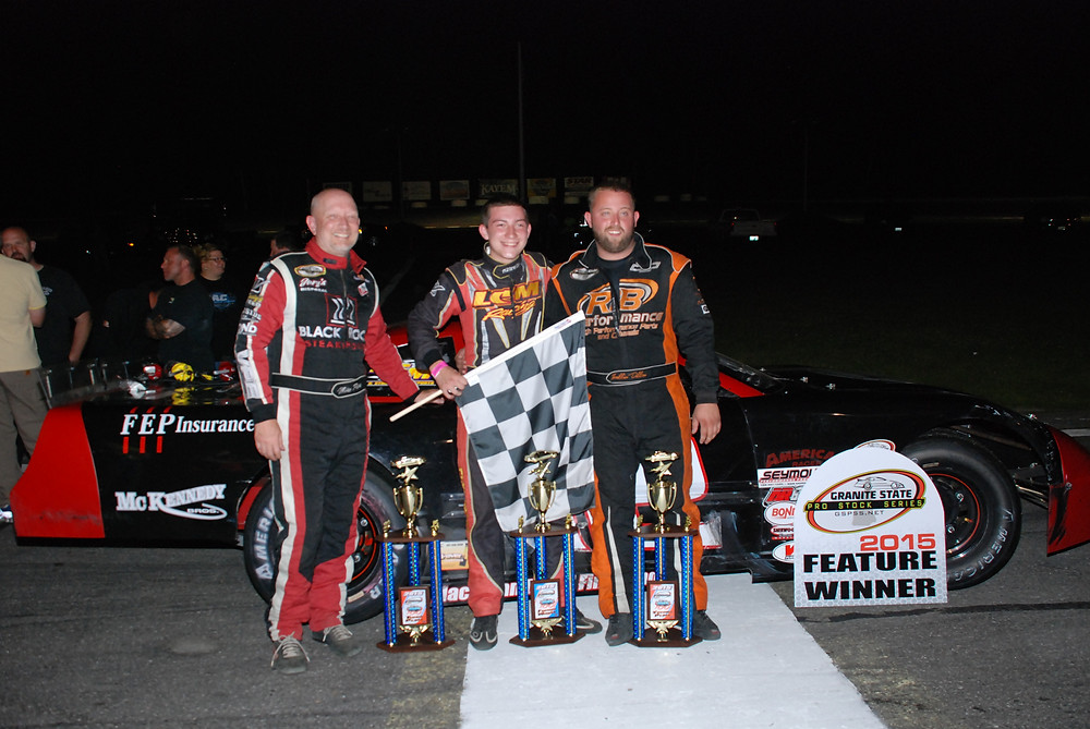 Star 100 top 3, left to right. 3rd Mike Parks, 1st Derek Griffith, 2nd Dillon Moltz (Remember When Photography) (1).JPG