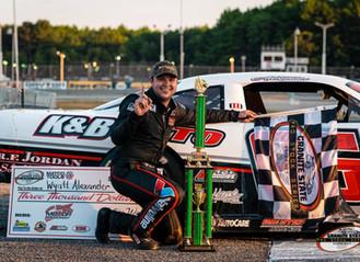 Wyatt Alexander wins first GSPSS event at Beech Ridge Motor Speedway