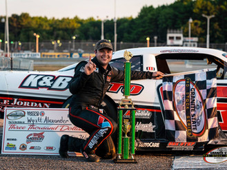 Wyatt Alexander wins first GSPSS event at Beech Ridge Motor Speedway