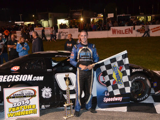 Polewarczyk, JR. Steals Seacoast 100 Win at Lee USA Speedway