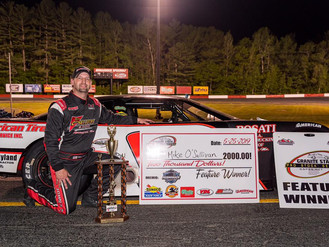 O'Sullivan Victorious at Monadnock Speedway