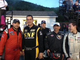 Granite State Pro Stock Series Drivers Open Their Helmets and Hearts at Monadnock Speedway
