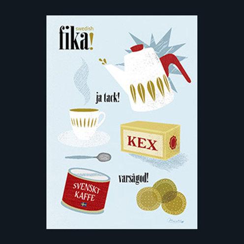 コーヒータイム、フィーカ/FIKA