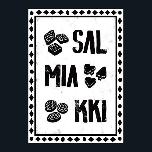 フィンランドのお菓子、サルミアッキ/Salmiakki