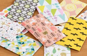 北欧デザインのポチ袋(株式会社マルアイ)