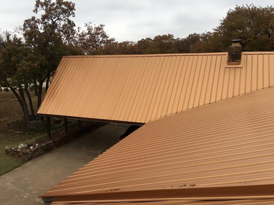 Orange Metal Roof - March 2016