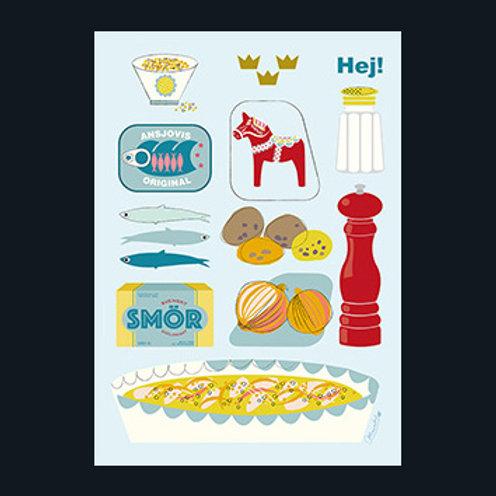 スウェーデンの定番料理/Swedish cooking
