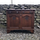 Thumbnail: Antique Sideboard Custom Painted in Farrow and Ball Off Black