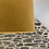 Thumbnail: Mustard / Gold Vintage Style Drum Lampshade with Gold Interior
