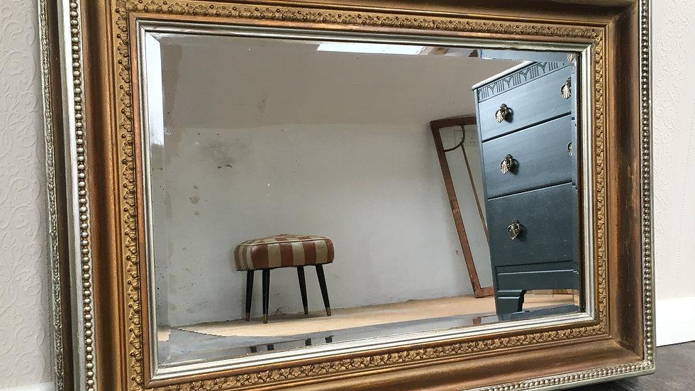 Beautiful Antique Wall Mirror / Ornate Wall Mirror / Gilt Mirror
