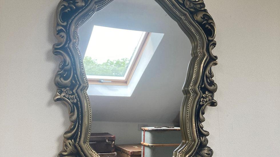 Vintage Ornate Roccoco / Baroque Style Gilt Framed Wall Mirror
