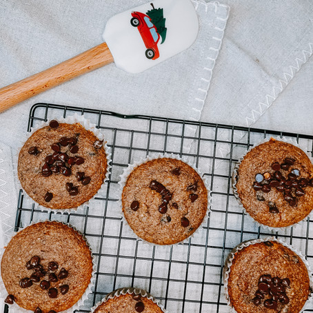 BG Friendly Banana Chocolate Chip Muffins!!