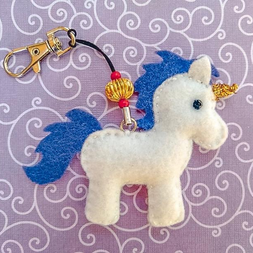 Diabetty Unicorn Key Chain
