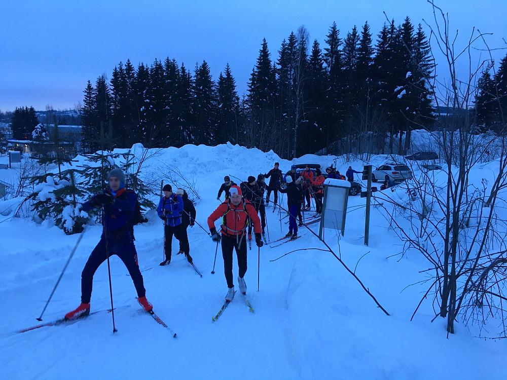 Følg deltakere til Oslo