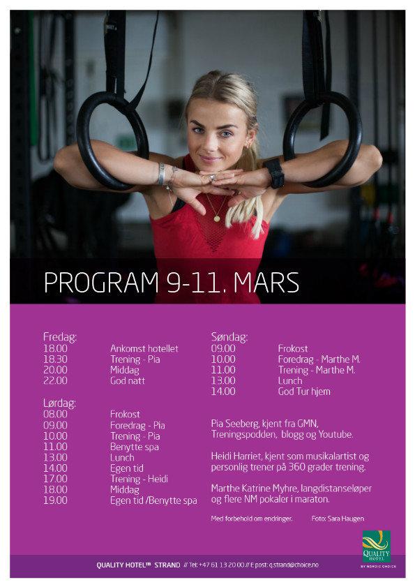 Pia Seeberg trening