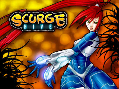 Game background art design