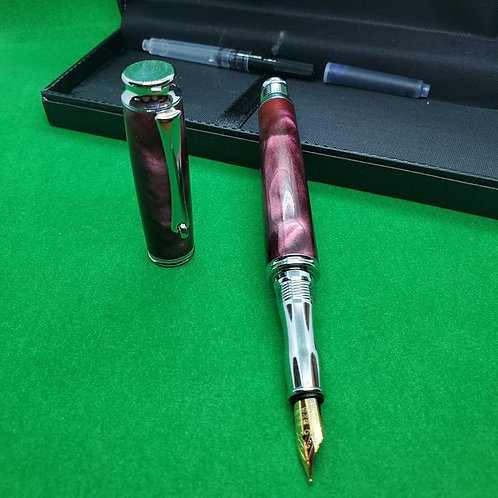 Virage Fountain Pen - Mulberry