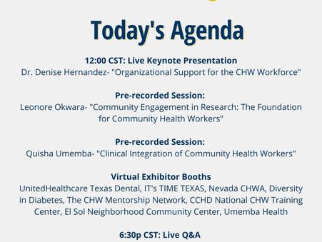 Virtual CHW Summit Day 1 Agenda
