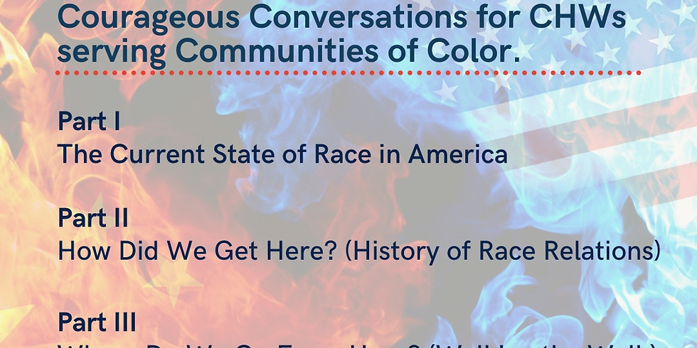 The State of Race: Courageous Conversations Series