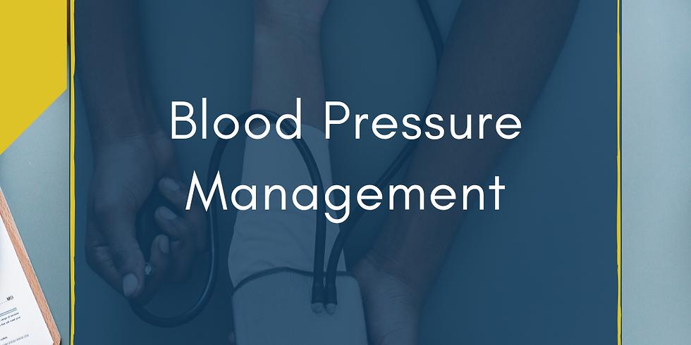 Recording: Blood Pressure Self-Management Strategies
