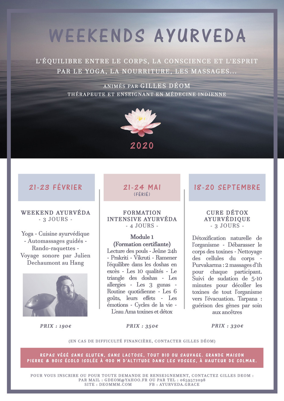 Stages, Formations & Ateliers