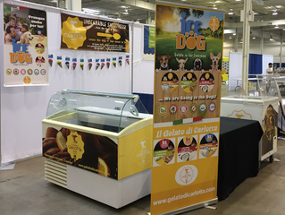 September 8th - 9th Il Gelato Di Carlotta at the Canadian Pet Expo - International Centre Mississaug