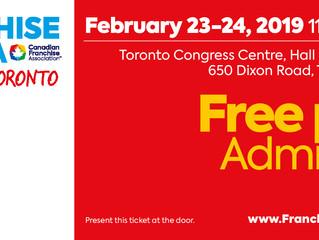 Franchise Canada Show Toronto
