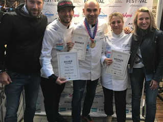 Bronze Award at the World Gelato Festival 2019. June 1st and 2nd, Boylston Plaza in the Prudential C