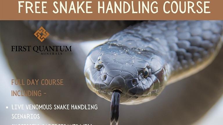 Free Snake Handling Course