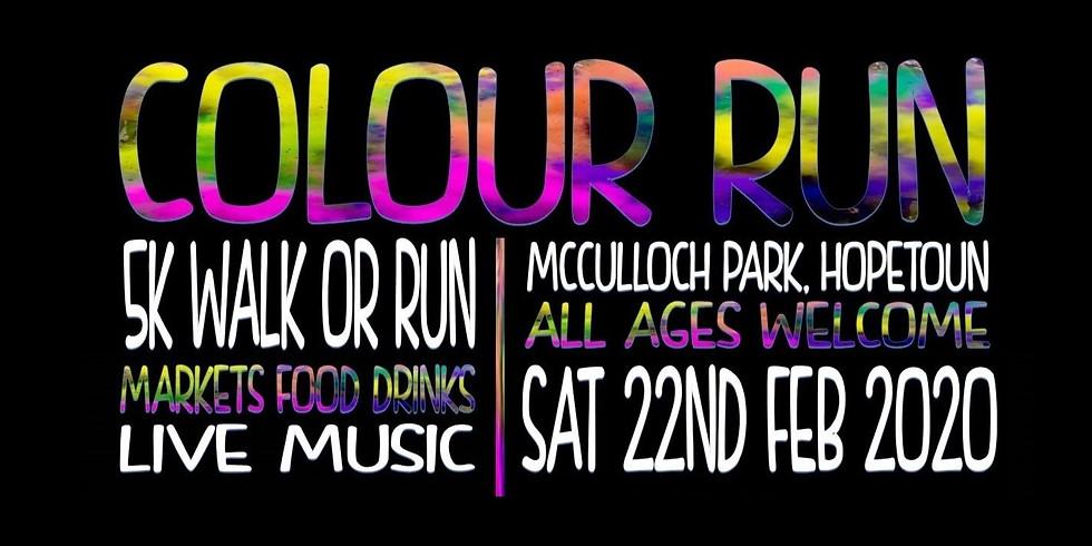 Hopetoun CRC Colour Run