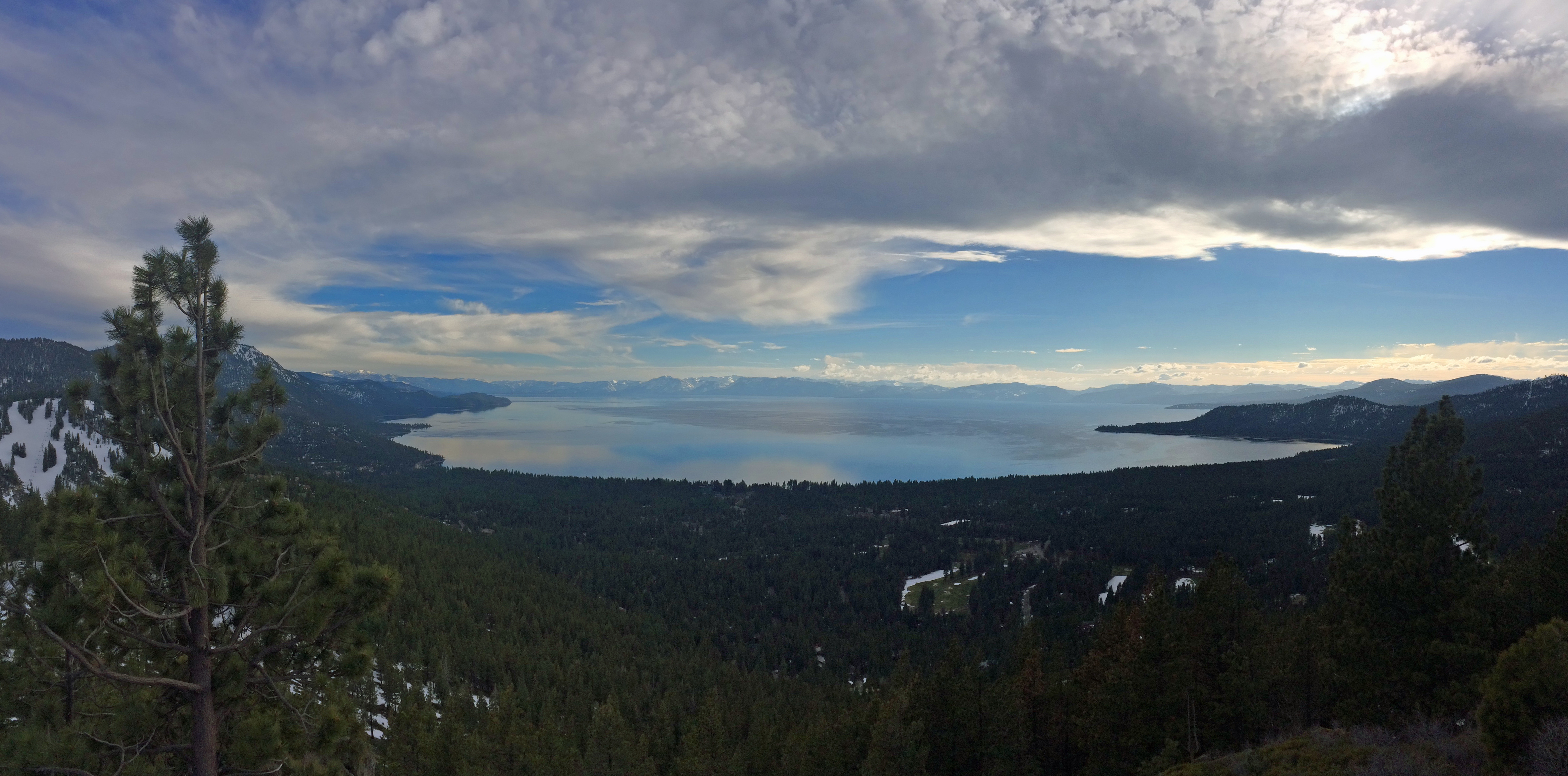 Mount Rose Scenic Overlook Lake Tahoe