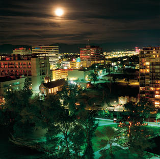 Reno Nevada by Night