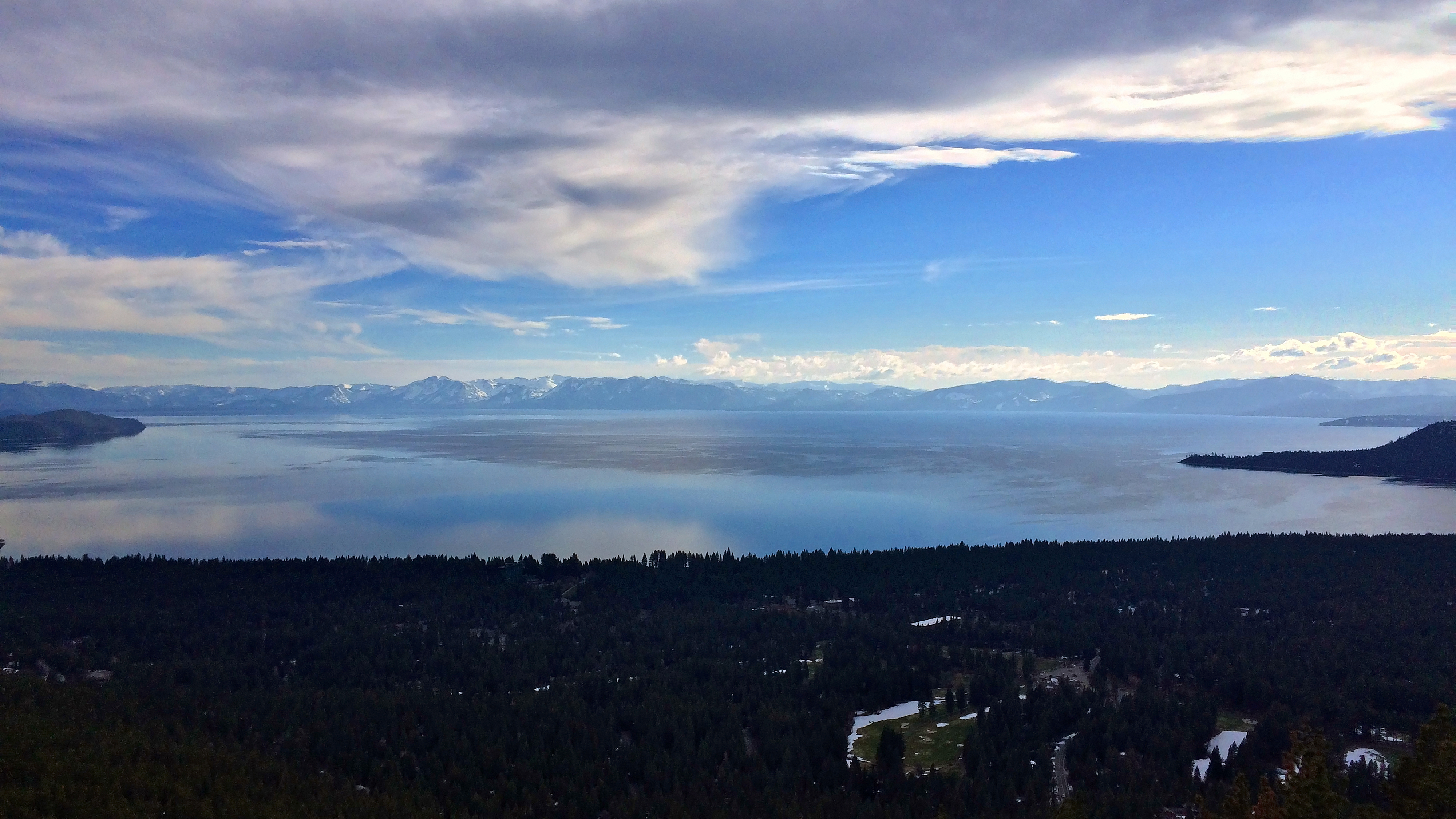 Lake Tahoe, Mt. Rose Highway Scenic Overlook