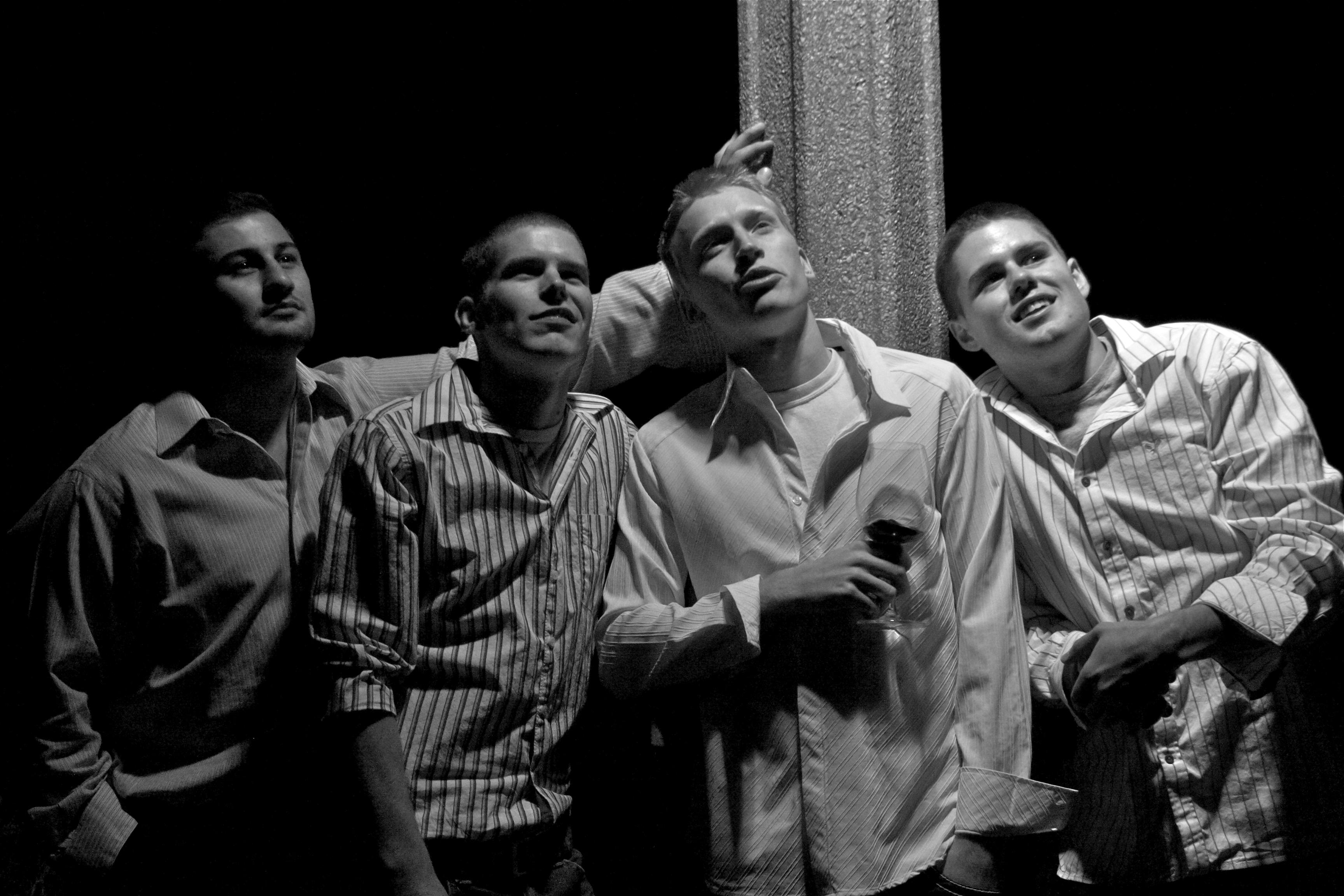Wedding Photographer Groom's Men 5533
