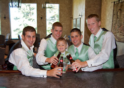 Wedding Photographer Groom's Men 006