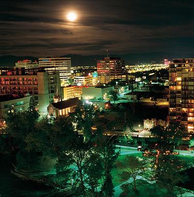 Downtown Reno Nevada professional photography landscapes cityscapes comercial advertising Reno Carson City Lake Tahoe Nevada