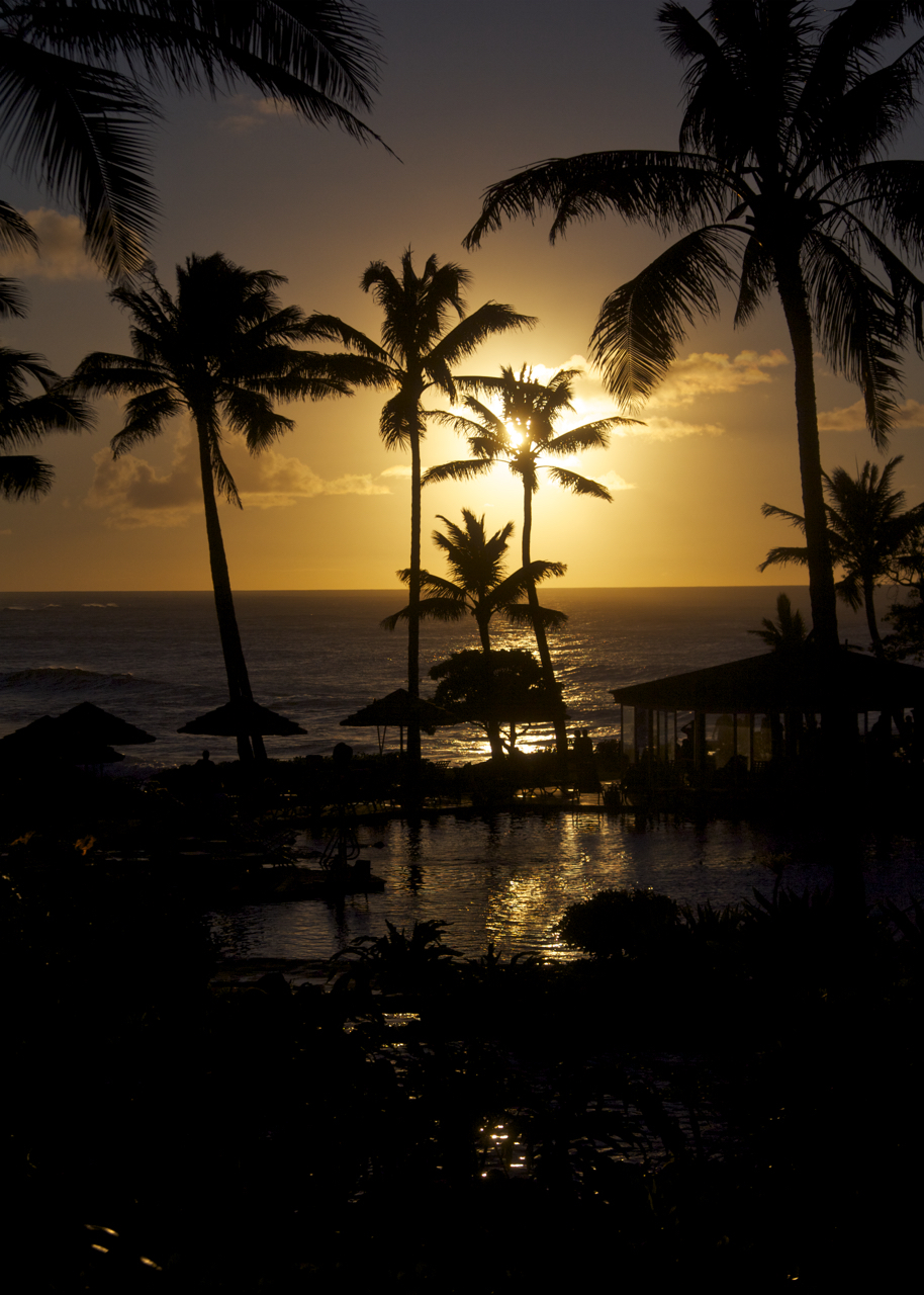 Turtle Bay Sunset Oahu