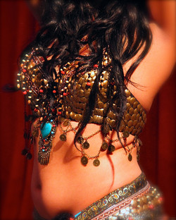 Belly Dancer Portrait