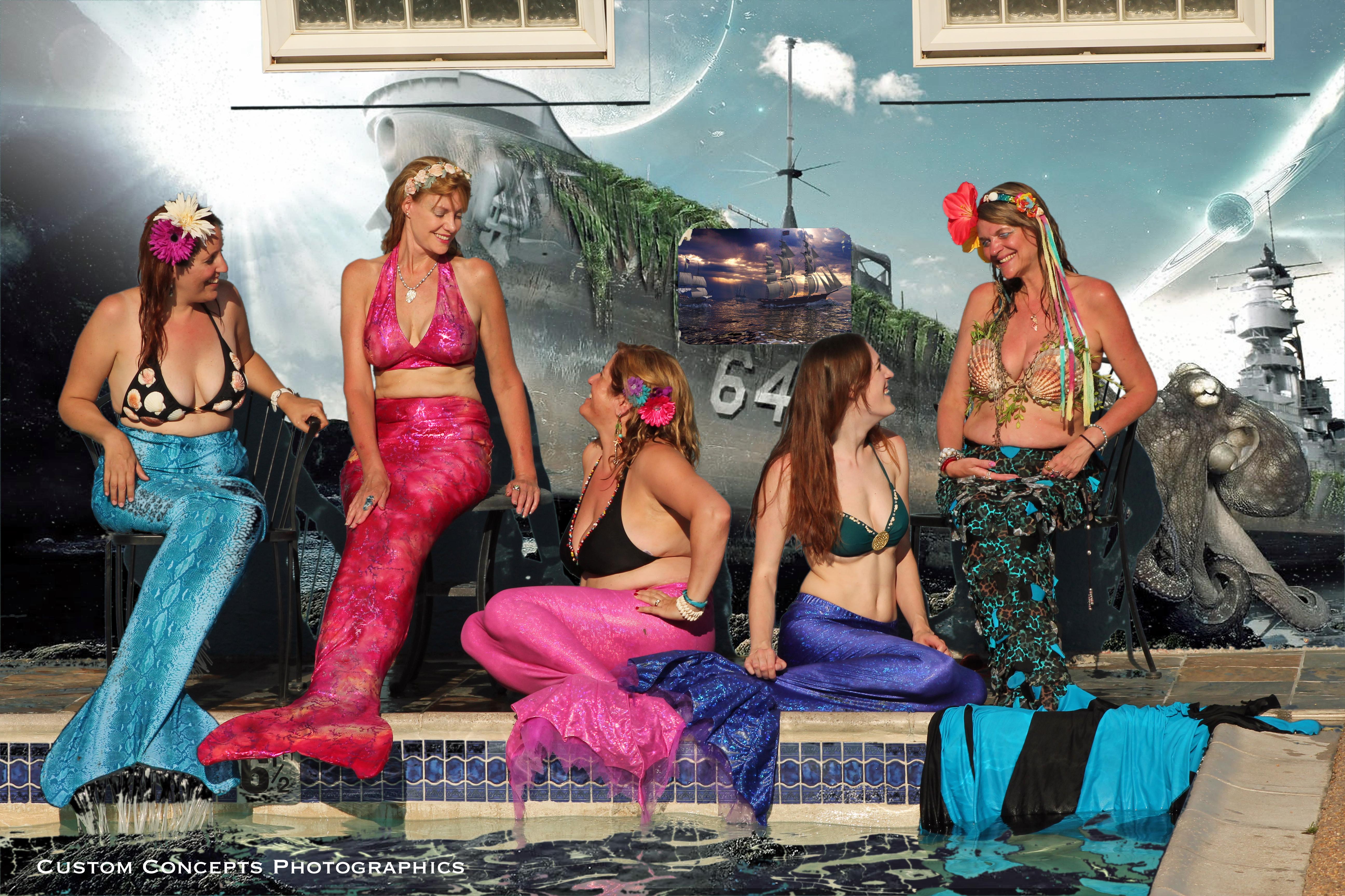 Mermaid Portraits