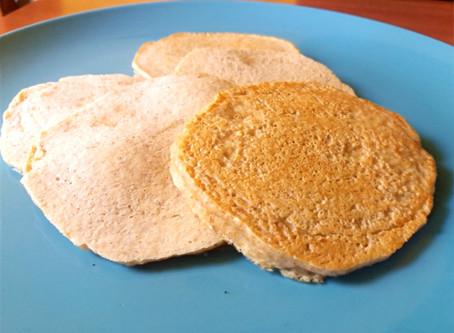 Pancakes faciles et rapides (sans gluten, sans lactose)