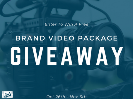 WIN A FREE BRAND VIDEO PACKAGE FOR YOUR BUSINESS