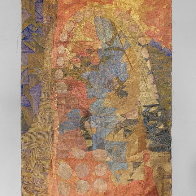 14. Conversation. size 89 x 131 cm, Acry