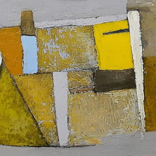 Composition with Yellow and White