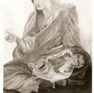 Beggar Woman with a Child