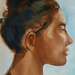 Portrait of Frejya