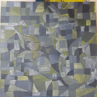 Composition with Lemon Yellow, Paynes Grey